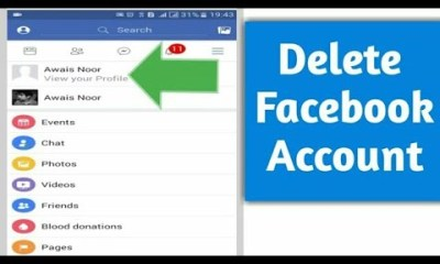 How To Delete Facebook Account Step By Step Guide