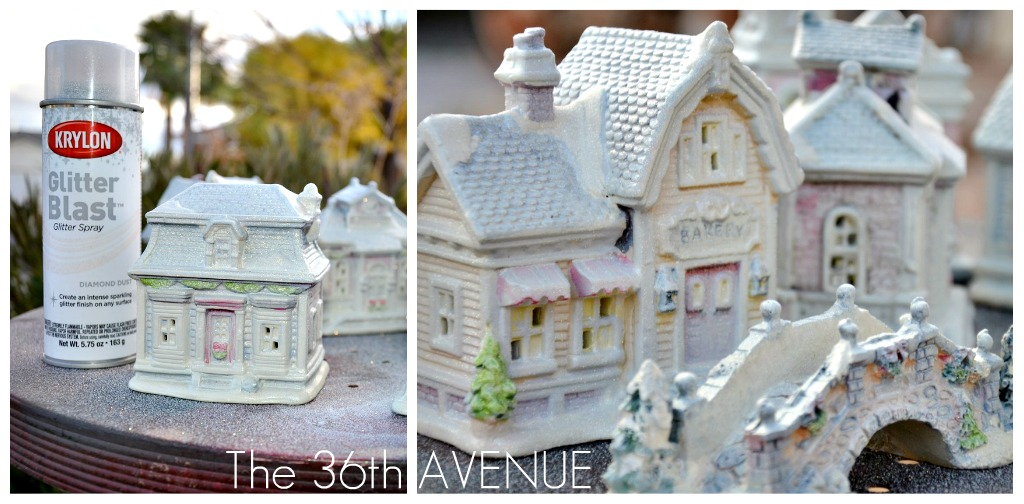 The 36th AVENUE DIY Dollar Store Christmas Village The