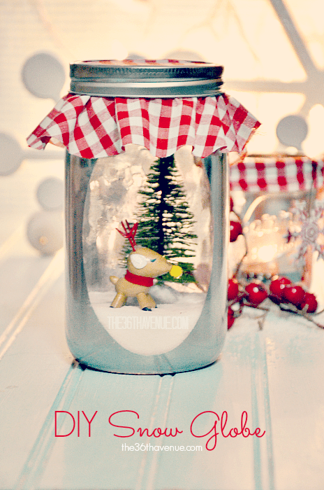 The 36th AVENUE DIY Snow Globe And Accessories The