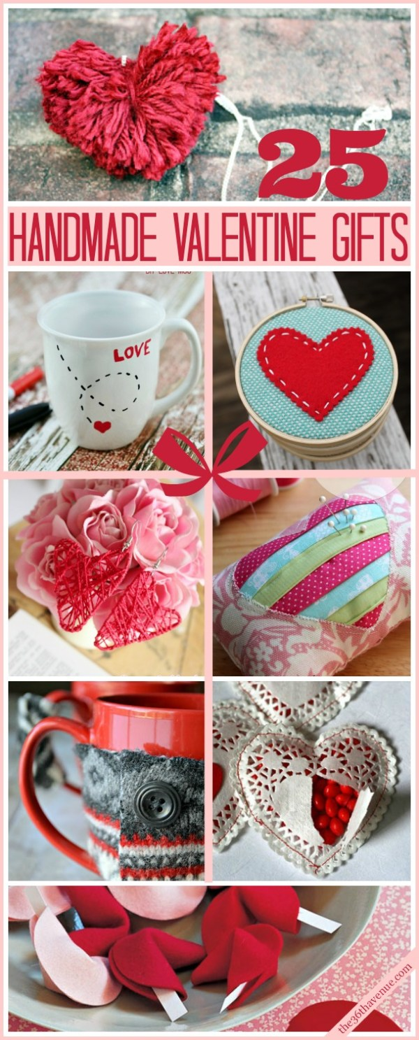 The 36th AVENUE | 25 Valentine Handmade Gifts | The 36th ...