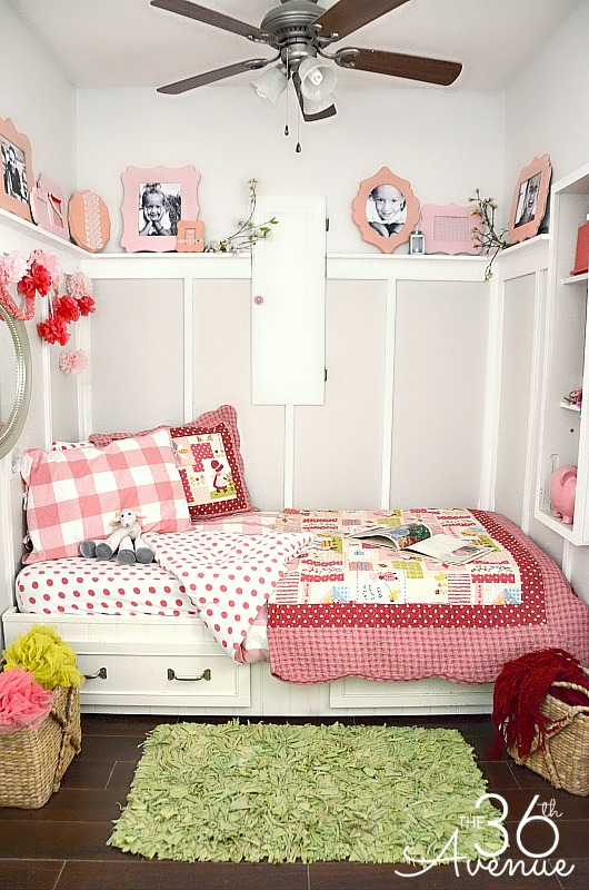 How to Decorate a Small Bedroom - The 36th AVENUE on Girls Bedroom Ideas For Very Small Rooms  id=15051