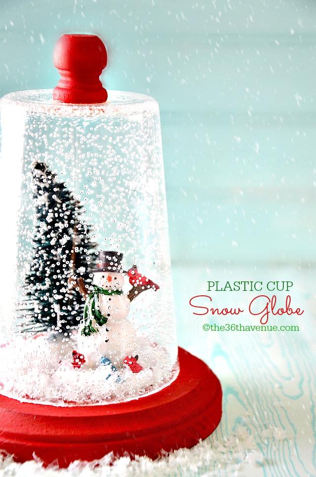The 36th AVENUE Snow Globe Christmas Gift Idea The