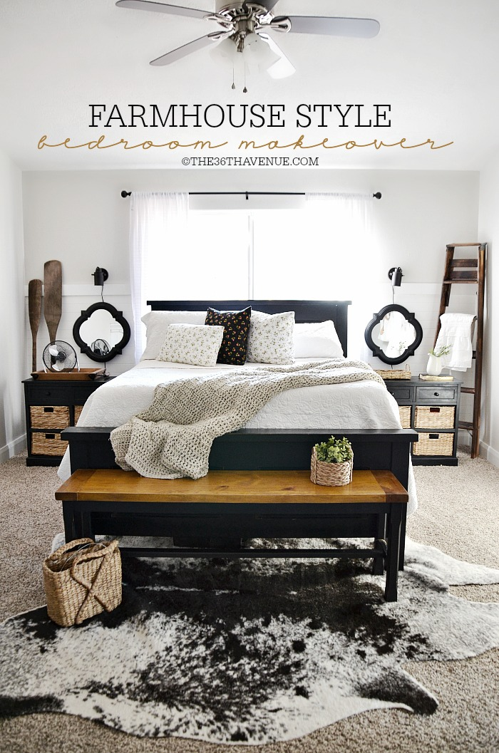 Home Decor - Bedroom Makeover   The 36th AVENUE on Bedroom Farmhouse Decor  id=62092