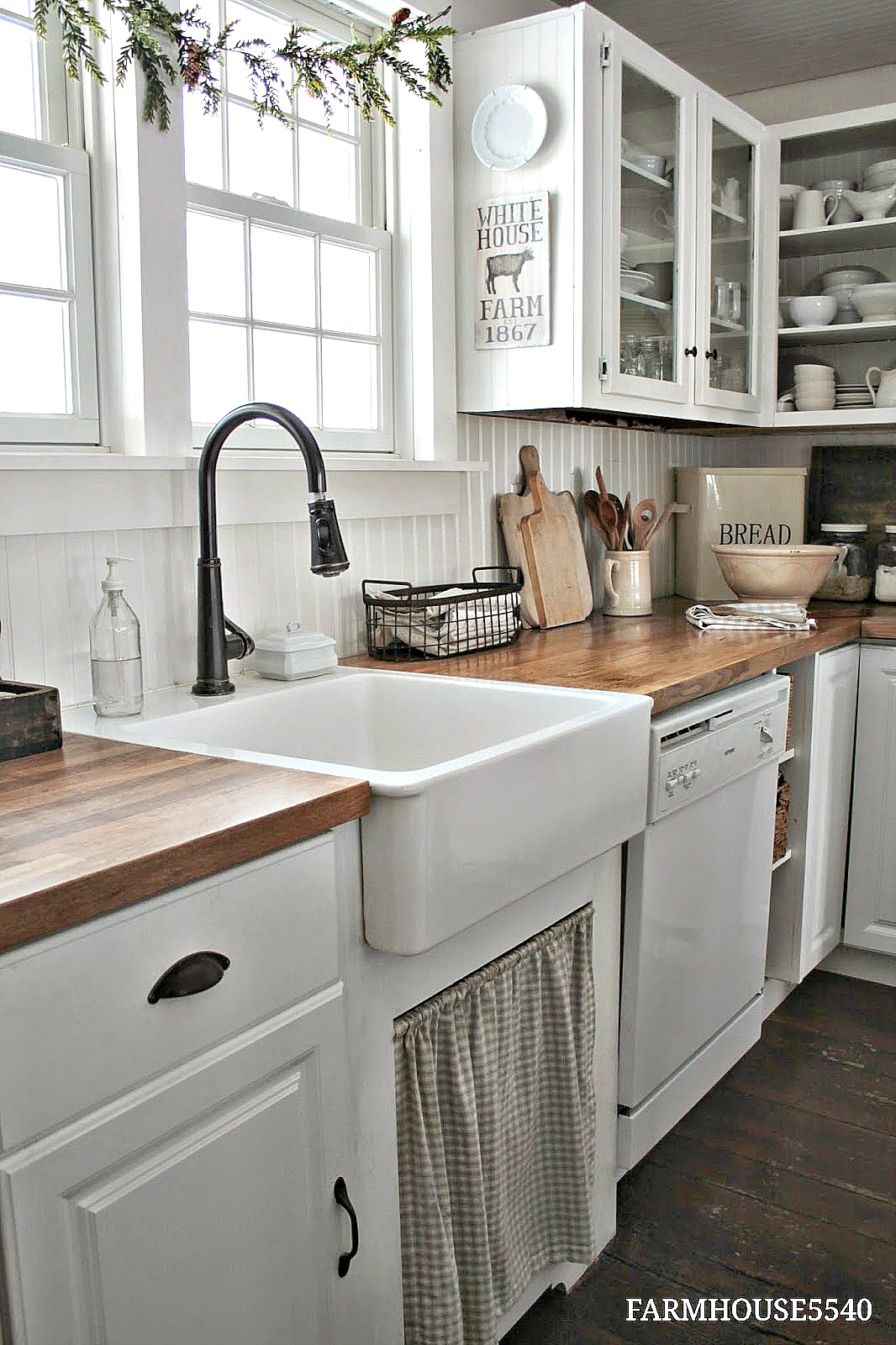 Farmhouse Kitchen Decor Ideas | The 36th AVENUE on Farmhouse Kitchen Ideas  id=91674