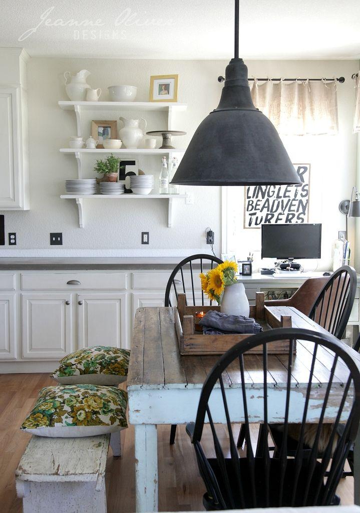 Farmhouse Kitchen Decor Ideas | The 36th AVENUE on Farmhouse Kitchen Ideas  id=45571