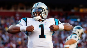 (Photo courtesy of Rob Carr/Getty Images) *** Local Caption *** Cam Newton