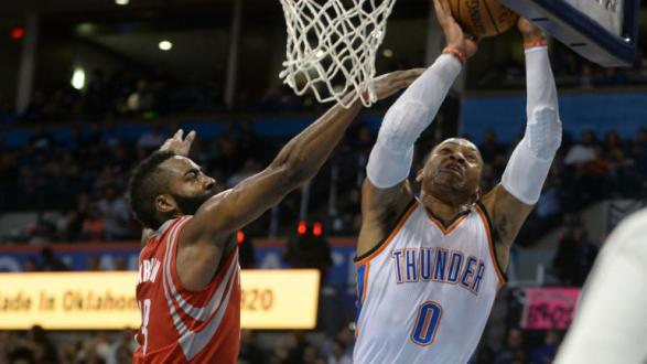 James Harden Verses Russell Westbrook- A Race To The Top