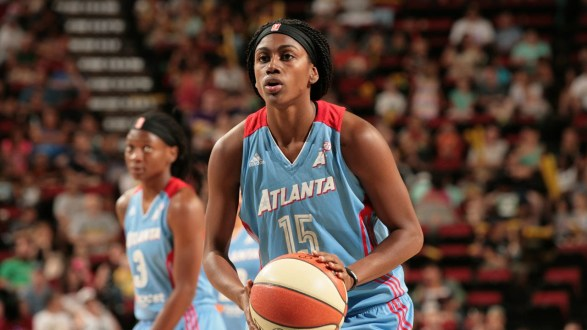 Atlanta's Hayes and Minnesota's Fowles Named WNBA Players Of The Month