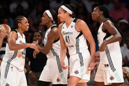 Double-Doubles From Charles And Stokes Power New York Liberty Past Chicago 86-82