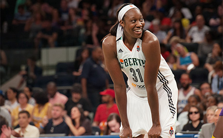 New York Liberty Forward Tina Charles Voted As A Starter For The 2017 WNBA All-Star Game