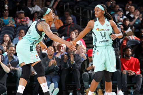 New York Liberty Erases 15-point 2nd half deficit to beat Indiana Fever on the road 85-94