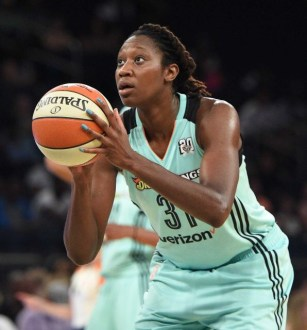 New York Liberty Forward Tina Charles named Player of the Month a record 10th time