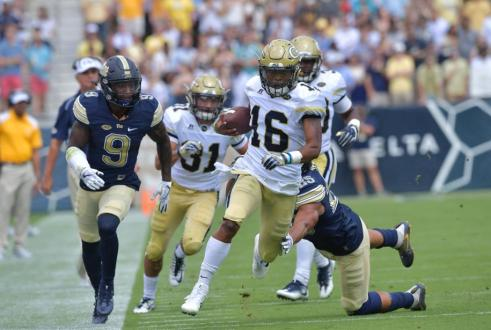 Full Tank: Georgia Tech Runs All Over Pittsburgh