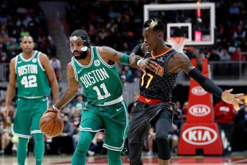 Hawks Tough Play Not Enough To Stop Celtics Win Streak Of 15