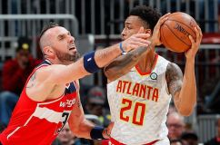 Hawks Hold Wall In Check, Defeat Wizards 113-99