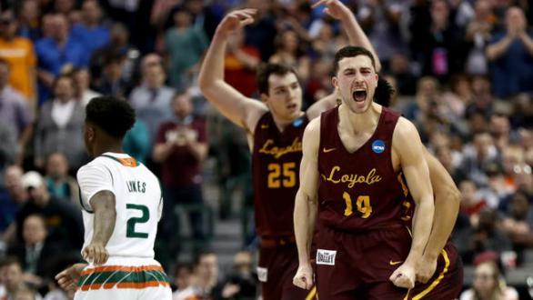 Loyola-Chicago Shocks Nevada To Advance To The Elite 8