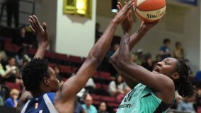 New York Unable to Hold On; Lynx Hit Tough Shot to Take Game 78-72