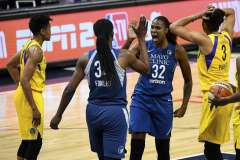 Sparks Lose To Lynx On Brunson's Special Night