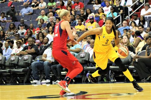 Sparks Run Out Of Magic Against The Mystics
