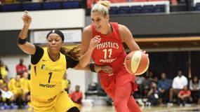 Mystics End Sparks Playoff Run