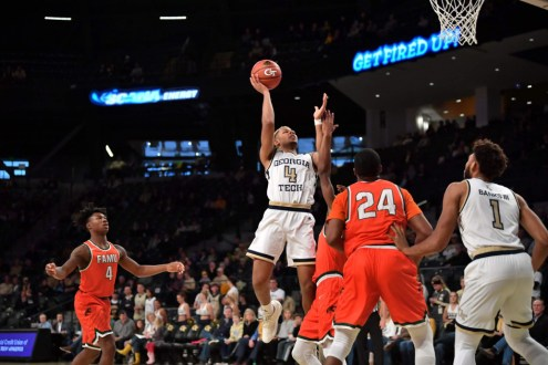 Swarming Defense Helps The Yellow Jackets To Blowout Win.