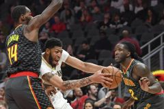 Hawks Hold On To A Win Over Pelicans