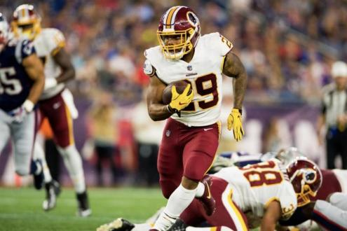 Redskins Relying On A Healthy Derrius Guice To Lead Running Back Rotation