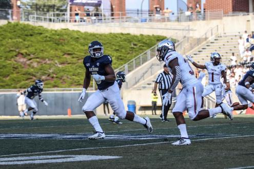 Akron Loses In A Blowout To Troy,