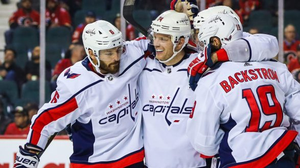 An October to Remember for Capital's John Carlson