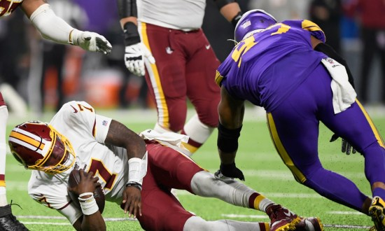 Redskins Still Unsettled At Quarterback After Loss In Minnesota