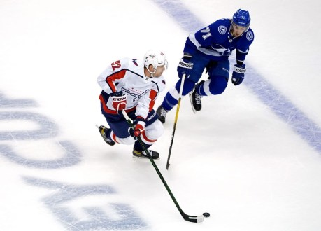 Capitals Fall In First Game Back Versus The Lightning In Cup Qualifiers