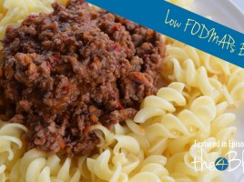 Low FODMAP bolognese Thermomix recipe