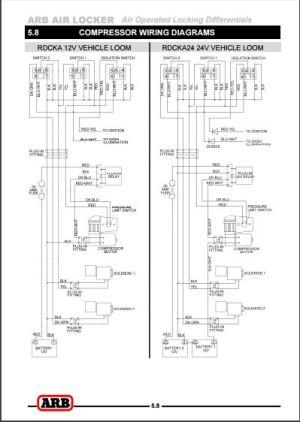 Arb Air Locker Wiring Diagram  Wiring Diagram And Schematics