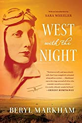 """West With the Night cover -- a beautifully written, non-fiction read for the """"set on a form of transportation"""" prompt"""