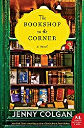 """The Bookshop On the Corner cover -- a creative fit for the """"set on a form of transportation"""" prompt"""