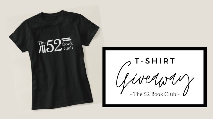 T-Shirt for 52 Book Club giveaway