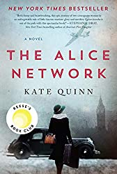 The Alice Network -- a book cover with a woman facing away