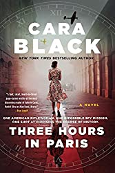 Three hours in Paris book cover with woman facing away