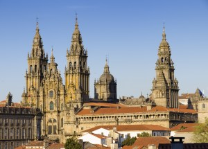 Cathedral de Compostela by ramonespelt for dollarphotoclub