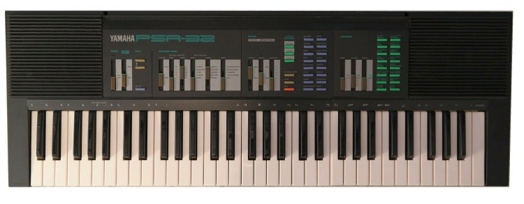 Yamaha PSR32 top