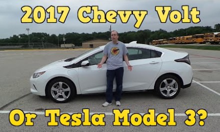 2017 Chevy Volt or Tesla Model 3? Review of Volt