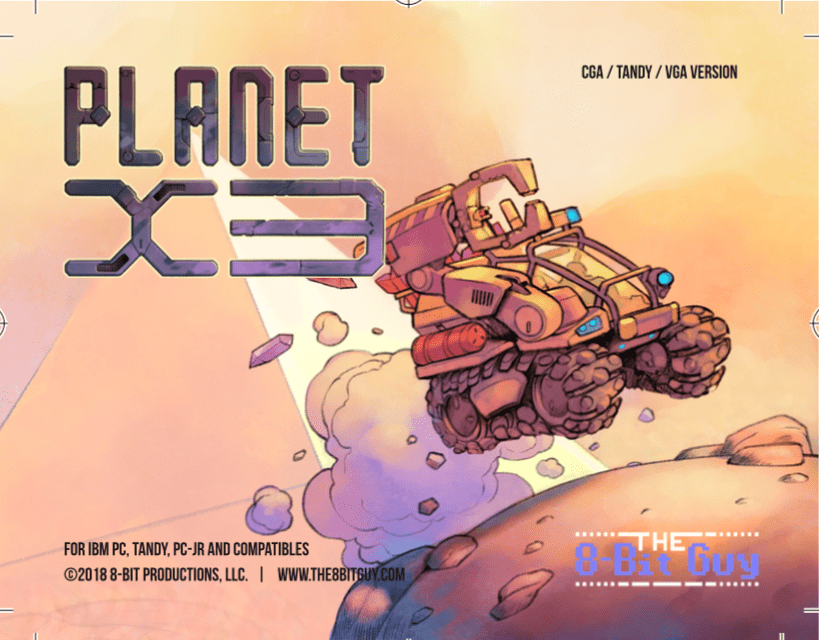 Planet X3 is Here! And with new video modes! - The 8-Bit Guy