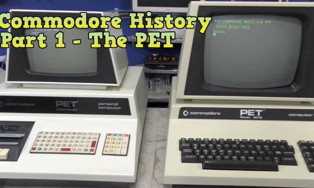 Commodore History Part 1: The Commodore PET