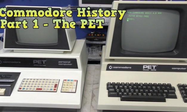 Commodore History Part 1: The Commodore PET