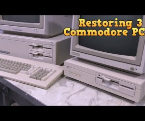 Restoring three commodore PCs