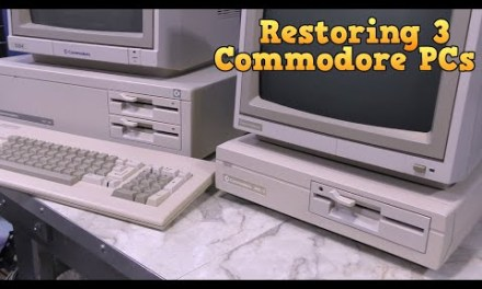 Restoring three Commodore PC Compatibles