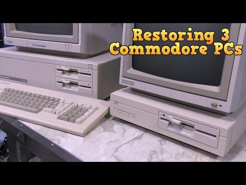 Restoring three Commodore PC Compatibles