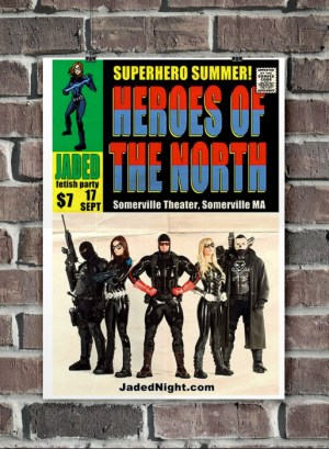 Heroes of the North Promo Poster Design & Illustration, 2012