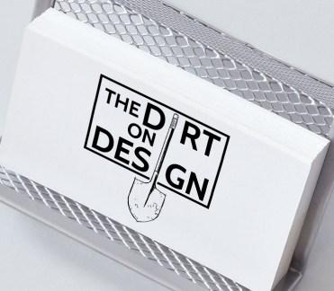 The Dirt on Design Logo, 2016