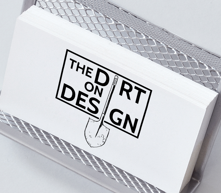The Dirt on Design Logo, 2016